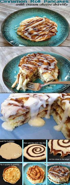 Cinnamon Roll Pancake Recipe – Pancakes are Never Out of Style