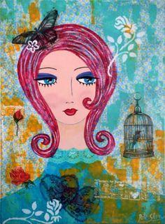 Talleres, clases y seminarios, pintura decorativa. Sylvia Oyarzún, profesora técnicas decorativas.