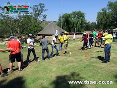 PWC Boeresport team building event in Midrand, facilitated and coordinated by TBAE Team Building and Events Team Building Events, Sports, Hs Sports, Sport