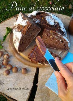la cucina in collina: Pane al Cioccolato a lievitazione naturale
