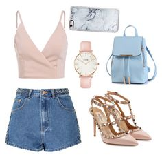 """""""Summer time"""" by natalie-bang-hansen on Polyvore featuring Glamorous, Valentino, CLUSE and Zero Gravity"""