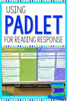 Are you looking to go paperless with your reading response notebooks? Padlet is … Are you looking to go paperless with your reading response notebooks? Padlet is an AMAZING digital tool that makes it engaging for readers to respond to… Continue Reading → 6th Grade Reading, 6th Grade Ela, Third Grade, Fourth Grade, Reading Response Notebook, Reading Notebooks, Web 2.0, Grades, Reading Strategies