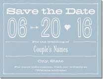 arrow calendar date Invitations & Announcements