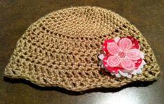 Free Crochet Pattern - Baby Beanie