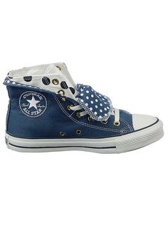 Converse  Two Fold  Baseball Boots - The very latest leisure shoe. The  ultimate in style with a polka-dot printed a0496bae2
