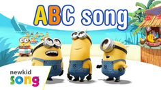 ABC song | Minions ABC song | Nursery Rhymes for Kids