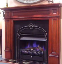 FIREPLACE SURROUND TIMBER MANTLEPIECE