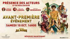 Jeu Concours: Les nouvelles aventures d'Aladin, avant-première exceptionnelle