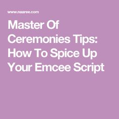 5 Master Of Ceremonies Tips To Spice Up Your Emcee Script Mc Wedding Script, Wedding Mc, Wedding Ideas, Master Of Ceremonies Wedding, Wedding Ceremony, Business Events, Event Management, Make Money Blogging, Mom Blogs