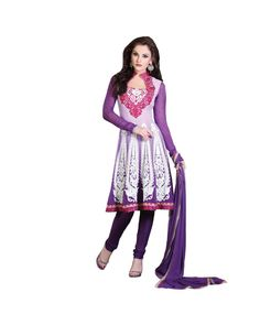 Violet Embroidered Salwar Suit   To know more or buy, please click Below:- http://www.ethnicstation.com/violet-embroidered-salwar-suit-ro1058  #EmbroideredSalwar Suit #onlineDiscount