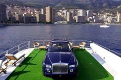 Rolls Royce on a yacht, only in Monaco* Luxury Experiences