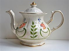 Vintage Teapot, Price Kensington Pottery, English Ceramic Kitchenware, Crackle…