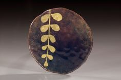 Rei Harada  copper, enamel, gold leaf