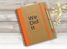 Personalised Notebook Teacher's Gift Graduation Gift von LooveMyArt
