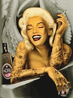 marilyn monroe live fast die young and leave a beautiful corpse Marilyn Monroe Decor, Marilyn Monroe Artwork, Marylin Monroe, Fantasy Art Angels, Fantasy Art Women, Sugar Skull Art, Samurai Art, Die Young, Norma Jeane