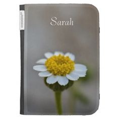 Rock Daisy Case For The Kindle by Florals by Fred #zazzle #gift #photogift #ereader #kindle
