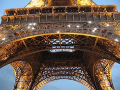 Beneath the Eiffel Tower by moonlightbulb
