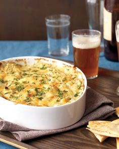 Artichoke Dip with Fontina - Martha Stewart Recipes.  The unbaked dip can be frozen, up to 1 month. Thaw completely before baking.