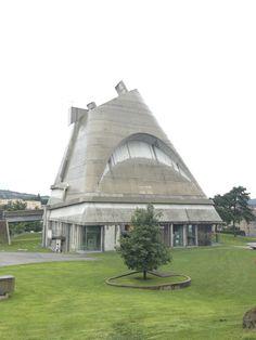 Firminy, France. Poème de l'angle droit, Le Corbusier. photo / mfpineiro