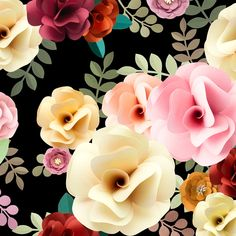 Rose Pattern Floral Texture Concept | premium image by rawpixel.com Arts And Crafts Projects, Arts And Crafts Supplies, Fun Crafts, Diy And Crafts, Flower Frame, Flower Wall, Best Bird Feeders, Floral Texture, World Crafts