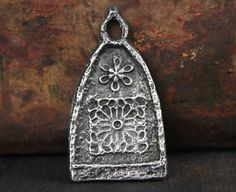 Cathedral Pendant Handcast Pewter Jewelry Supply No. by Inviciti
