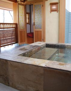 Ten Thousand Waves - Luxury Mountain Spa Resort.  Get a massage and a private tub.
