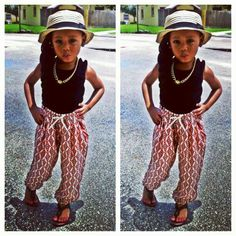 Dang little girl...can't I be more like you! and can I have your clothes lol