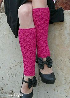 String With Style: Vines of Love Legwarmers
