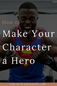 How to make your character a hero depends on the certain character traits you bestow upon them. Usually, your protagonist is going to be your hero, but that isn't always the case, nor is it crystal clear whether or not your MC is even a hero at all. Fiction Writing, Writing Advice, Writing Resources, Writing Help, Writing A Book, Writing Prompts, Writing Guide, Writing Goals, Writing Workshop