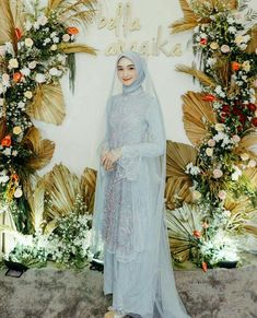 Muslim Wedding Gown, Kebaya Wedding, Muslimah Wedding Dress, Wedding Dressses, Muslim Wedding Dresses, Wedding Hijab, Wedding Attire, Hijab Gown, Kebaya Hijab