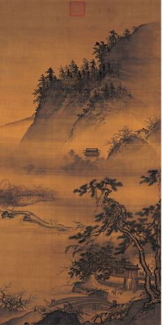 Dai Jin(戴進) ,  春游晚归  台北故宫博物院典藏