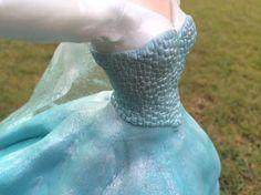Frozen Elsa Cake fondant video Ann Reardon