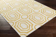 Hudson Deco Gold Area Rug