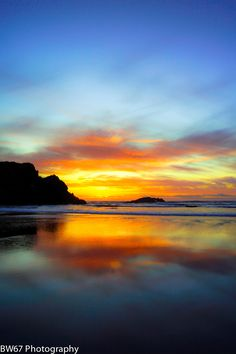 Photograph Sunset at Cannon Beach Oregon by Brian Williamson on 500px