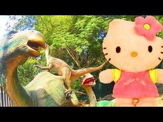 LIVE Dino Park Hello Kitty Toys & Friends Video for Kids Funny Toyo Surprise…