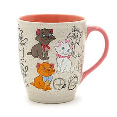 Disney Store The Aristocats Animated Mug Disney Coffee Mugs, Cute Coffee Mugs, Cute Mugs, Coffee Cups, Disney Dishes, Disney Cups, Disney Souvenirs, Disney Home Decor, Disney Magic