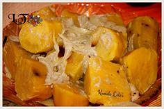 Sweet potatoes with coconut cream and onions (kumala Lolo'i) from my kitchen #ifoatu #tonganfood #litaskichen