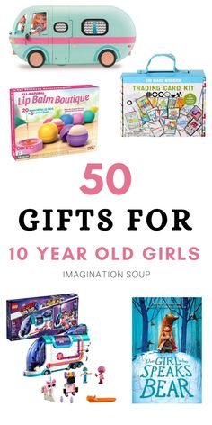 Cool Gifts For Kids, Christmas Gifts For Girls, Kids Gifts, Christmas Ideas, 10 Year Old Gifts, 10 Years Girl, Parent Gifts, Projects For Kids, Boy Birthday