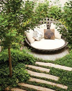 Garden get-away.