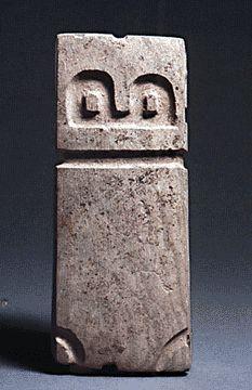 Valdivia stone figure, Pre-Columbian, 2300-2000 BC
