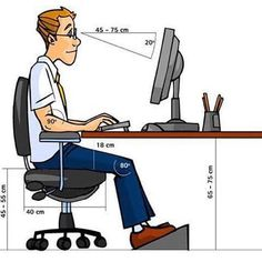 Top 45 Useful Standard Dimensions - Engineering Discoveries Office Cubicle Design, Office Table Design, Home Office Setup, Office Interior Design, Office Interiors, Chair Design, Home Furniture, Furniture Design, Kitchen Layout Plans