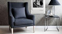Znalezione obrazy dla zapytania fotel tapicerowany wysoki