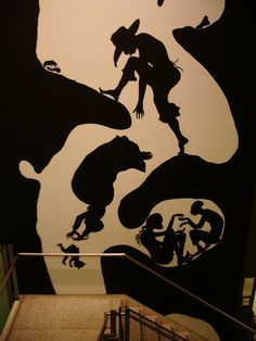 Kara Walker, New School for Social Research, New York City