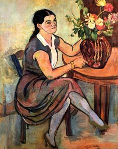 Woman Seated : Suzanne Valadon - 1929