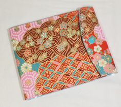 Car Registration Holder - Auto ID Wallet - Car Organizer - Japanese Imported Fabric