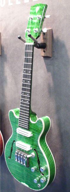 Prototype Kamoa Evoke #LardysUkuleleOfTheDay ~ https://www.pinterest.com/lardyfatboy/lardys-ukulele-of-the-day/ ~