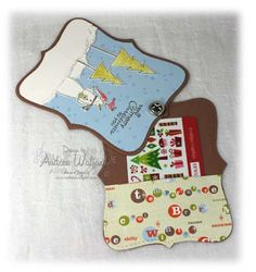 Top Note Gift Card Holder - Open by aswalford - Cards and Paper Crafts at…
