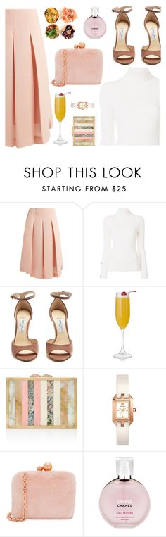 """sunday brunch"" by freshprincesse ❤ liked on Polyvore featuring Simone Rocha, See by Chloé, Jimmy Choo, Tory Burch, Sophia Webster and Chanel"