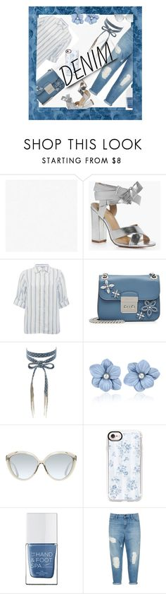 """""""Distressed"""" by confusioninme ❤ liked on Polyvore featuring Graham & Brown, Boohoo, M&Co, MICHAEL Michael Kors, Chan Luu, Linda Farrow, Casetify, The Hand & Foot Spa and plussize"""