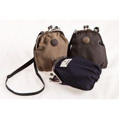 Globe Hope's purses. I got the dark blue one as a Christmas present. :)